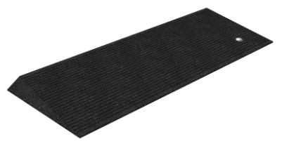"1.5"" Tall Rubber Beveled Threshold Ramp"